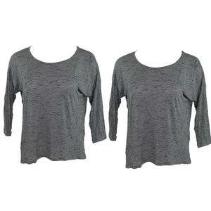 Lot of 2 Ideology Womens Tops 2X New